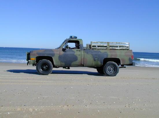 Gmc Police Truck